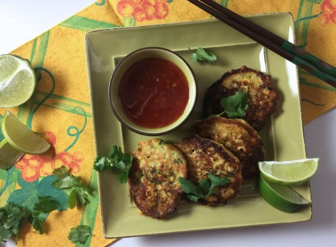 Go Asian with these Thai Style Corn Fritters!