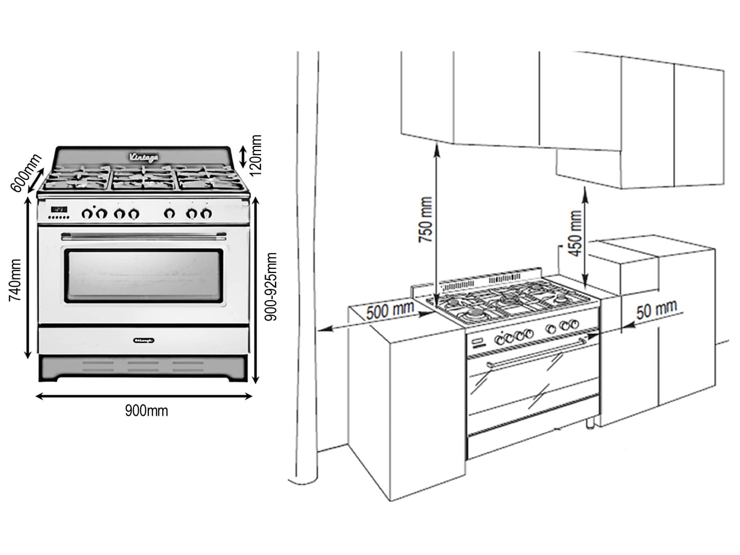 installing an electric cooker diagram