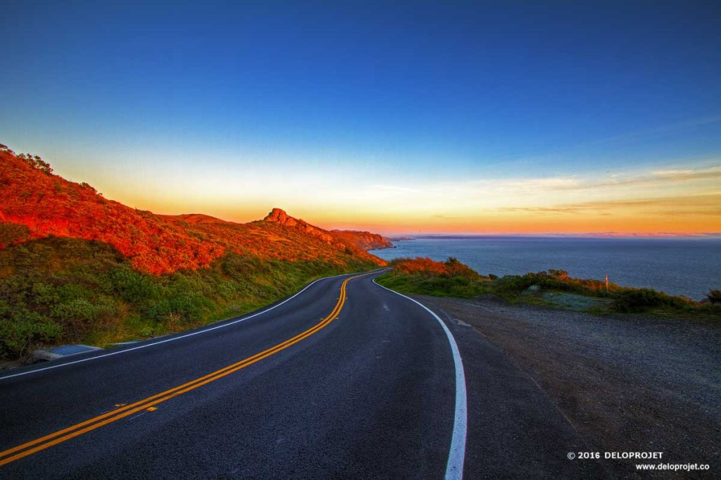 Japan Fall Wallpaper Follow The Sunset On The Pacific Highway Highway Deloprojet