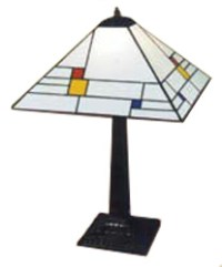Prairie Lampshade No. 5 Project - Stained Glass Lamp ...