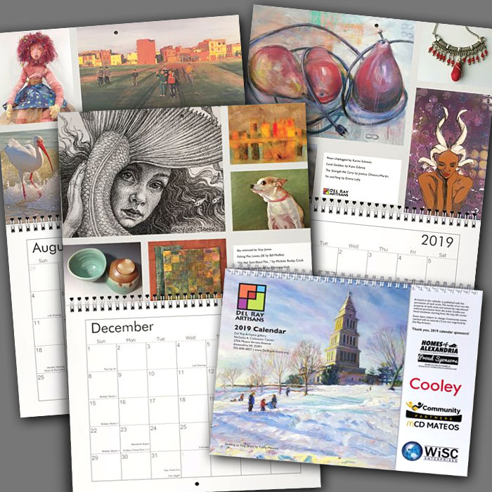 Del Ray Artisans\u0027 2019 Wall Calendar \u2013 Del Ray Artisans