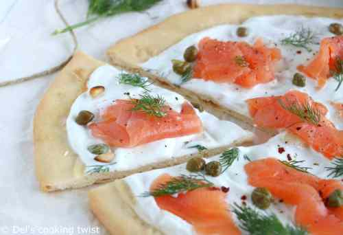 Medium Of Salmon With Capers
