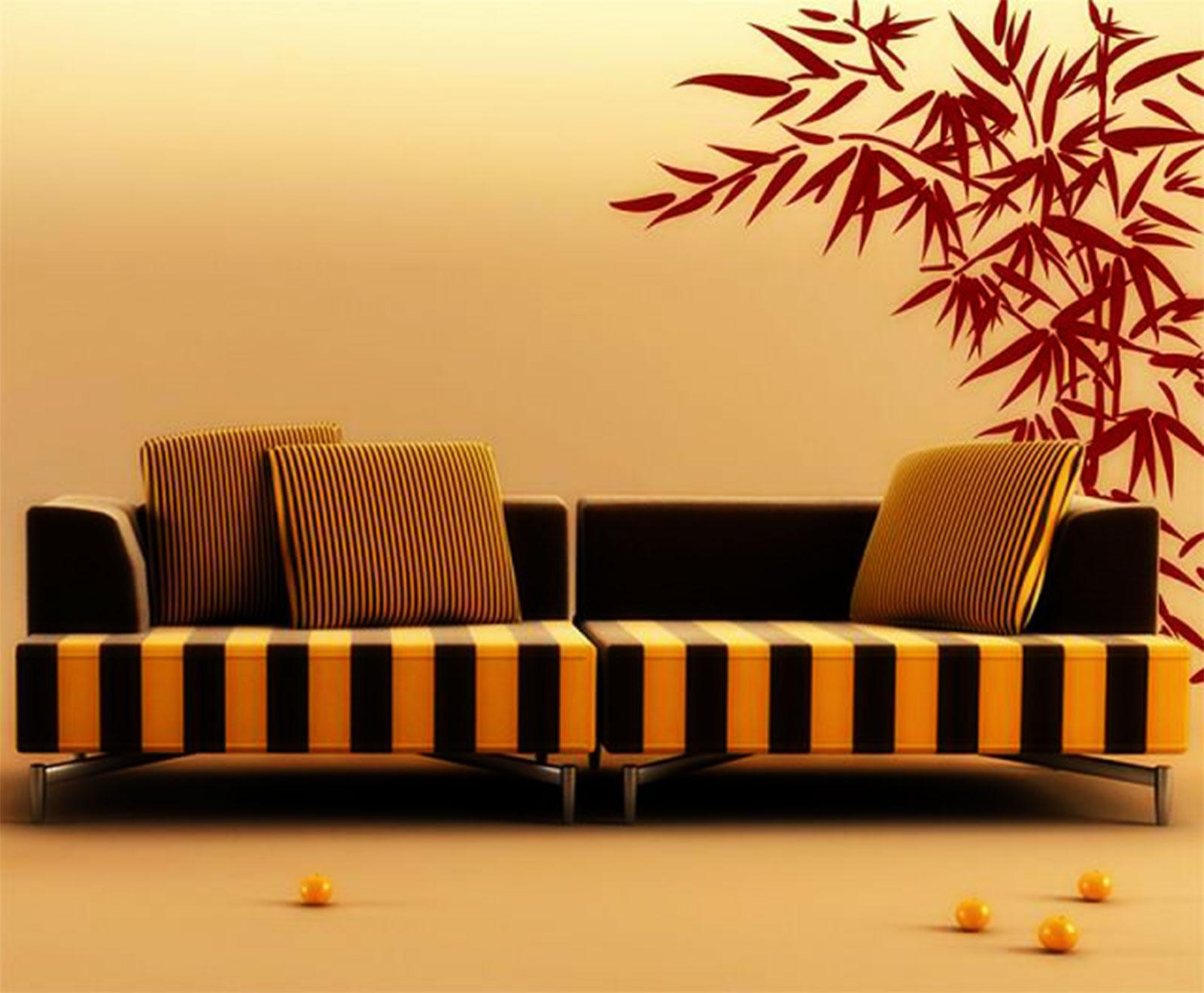Wall Decals Bamboo - Elitflat