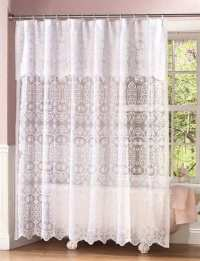 Elegant shower curtains with valance : Furniture Ideas ...