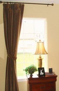 Hanging curtains from the ceiling : Furniture Ideas
