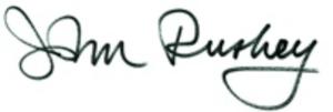 John Ruskey signature of Quapaw Canoe Company