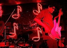 "Robert ""Bilbo"" Walker at Red's Blues Club. 10-16-11. ©Delta Bohemian"