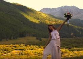 Pryor Buford Lampton still from Aspen Wedding film by Mims Graeber