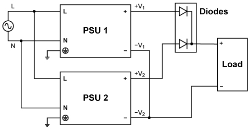 diodes in parallel to increase current rating