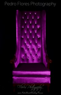 PURPLE THRONE CHAIR- SINGLE- TUFTED  Celebrations Event ...