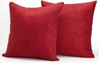 Microsuede Couch Pillows / Set of 2 Throw Pillows, 18 X 18 ...