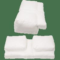Better Sleep Pillow - Gel Fiber Fill Pillow - Sleeping w ...