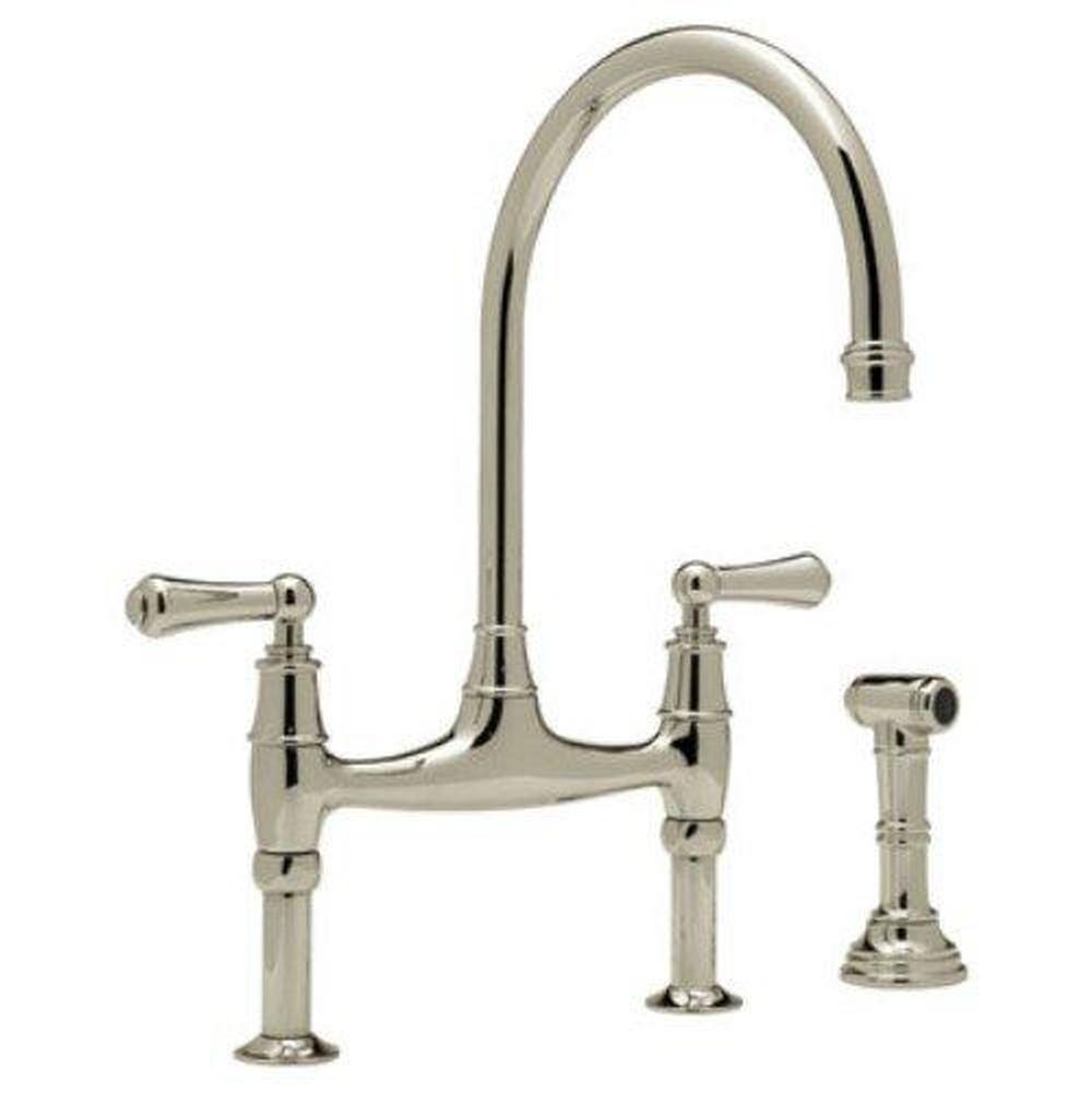Kitchen faucets Bridge v45 articulating kitchen faucet 1 00