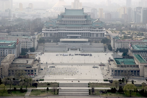 Kim-Il-sung-Square-Pyongyang-North-Korea
