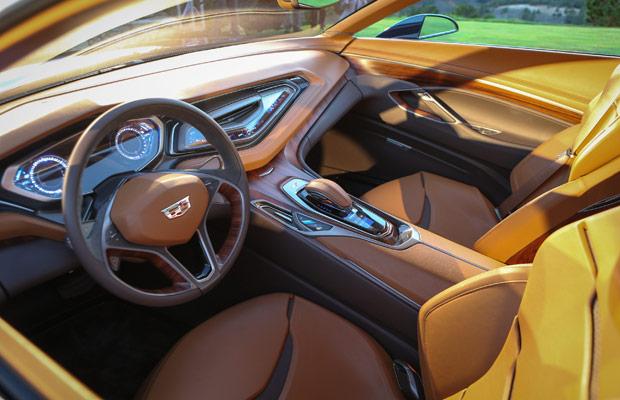 Cadillac's Elmiraj Coupe Concept interior