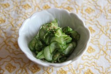 Sunomono - Cucumber Salad