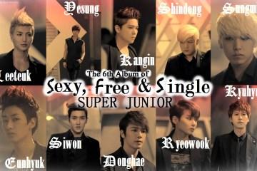 Super Junior_Sexy, Free & Single