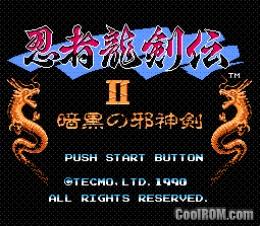 Ninja Ryukenden II Ankoku no Jashinken