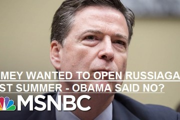 Did FBI Director James Comey have information about possible Russian interference into 2016 US Presidential election last summer?