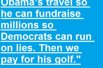 demagaga politics - trump golf