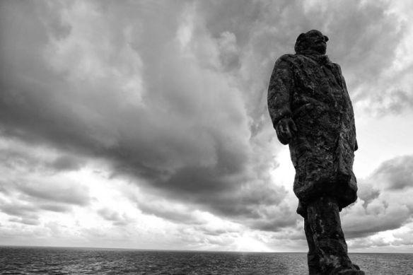 'Onder het toeziend oog van Ir Cornelis Lely zal er de komende jaren veel veranderen op en om de Afsluitdijk - Foto: Kenneth Stamp