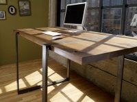 Custom Office Desk - Home Design