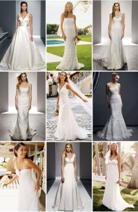 Different Color White Wedding Dresses in Houston, TX ...
