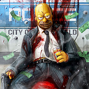 Simpsons Wallpaper 3d Your Favourite 90s Cartoon Characters As Drug Addicts