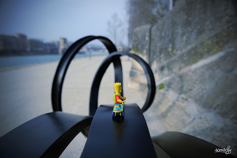 3d Art Street Wallpapers Miniature Lego Adventures By French Photographer Samsofy