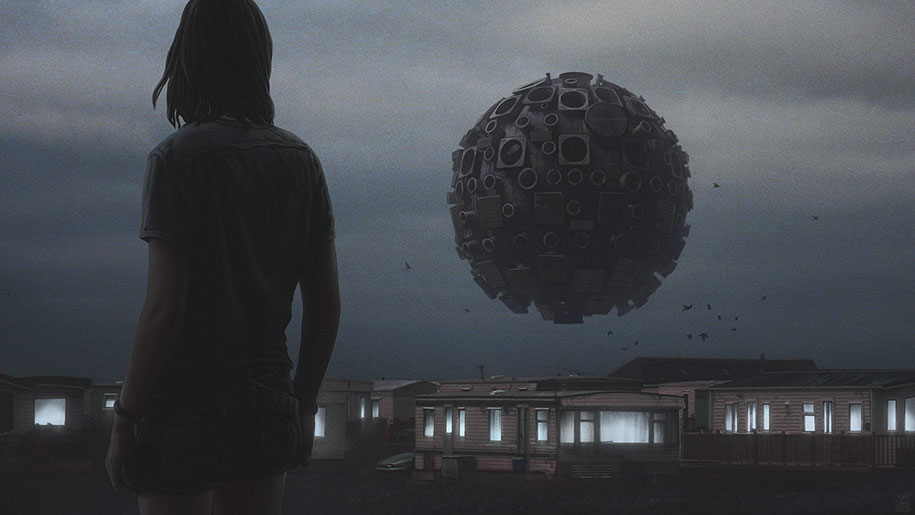 Lonely Girl Wallpaper Com Dark Post Apocalyptic Worlds By Yuri Shwedoff