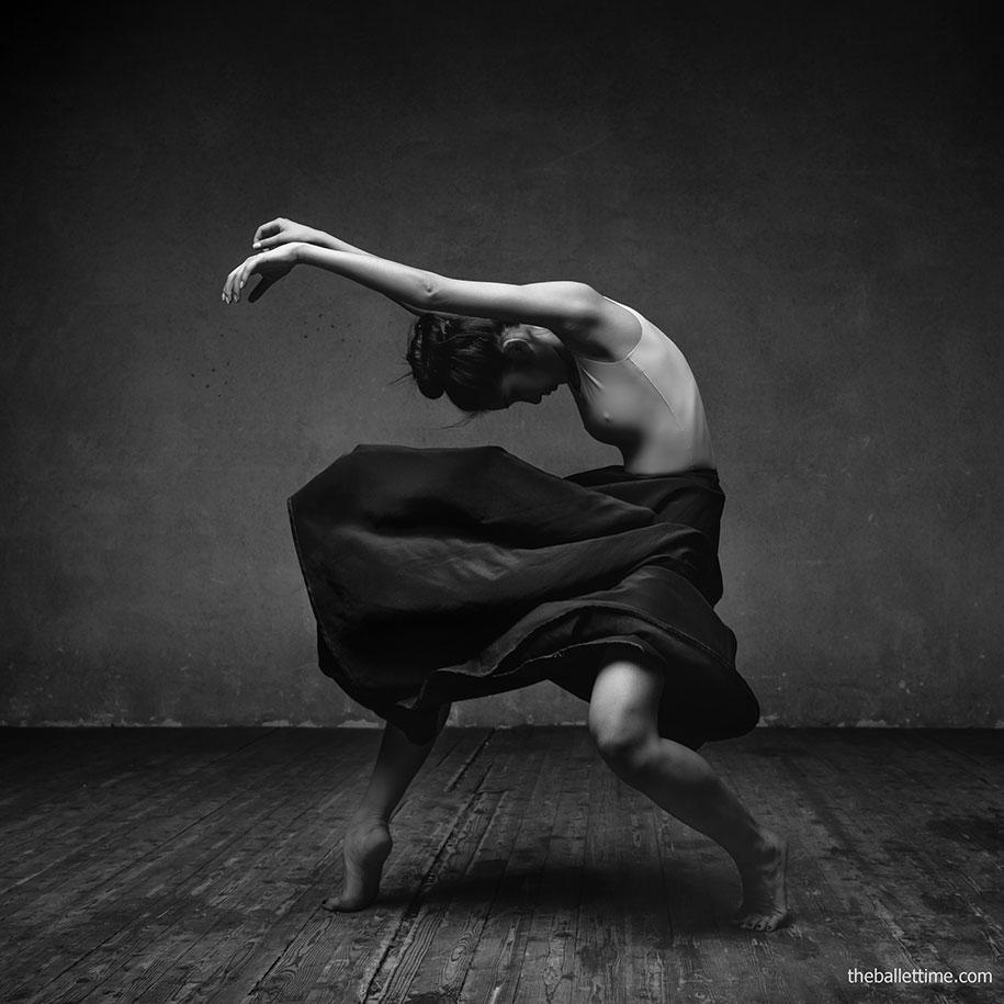 Gli esplosivi ritratti di ballerini fotografati da Alexander Yakovlev