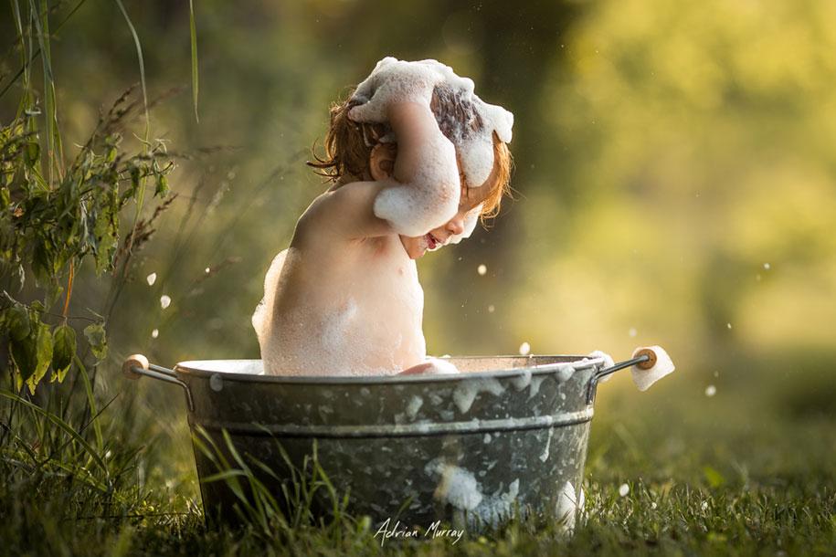 Cute Girl Wallpapers Pinterest Photographer Documents His Children Enjoying Idyllic
