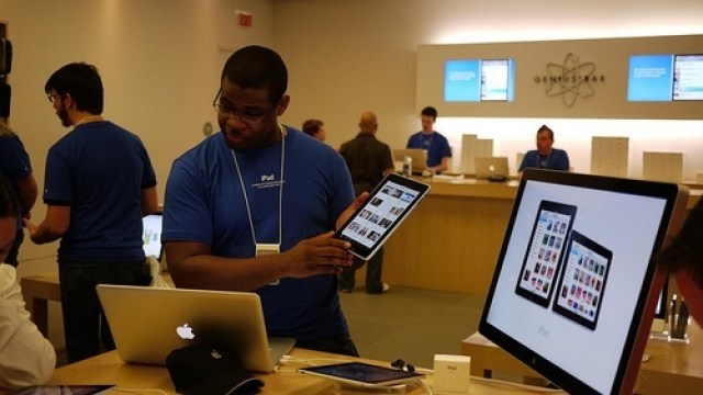 Ipad at Apple Store
