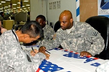 Even the Military Has Relatively Low Voter Turnout