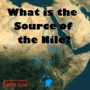 source of nile river ethiopia egypt graphic