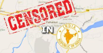 Untitled India Google Maps Controversy