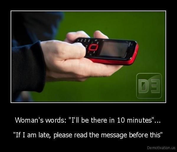 Woman\u0027s words \