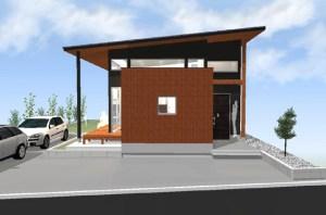 間取りデザイン06|自然豊かな敷地に建てる広がる空間
