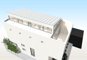 間取りデザイン09|狭小敷地に建てるやさしい自然光を感じる家