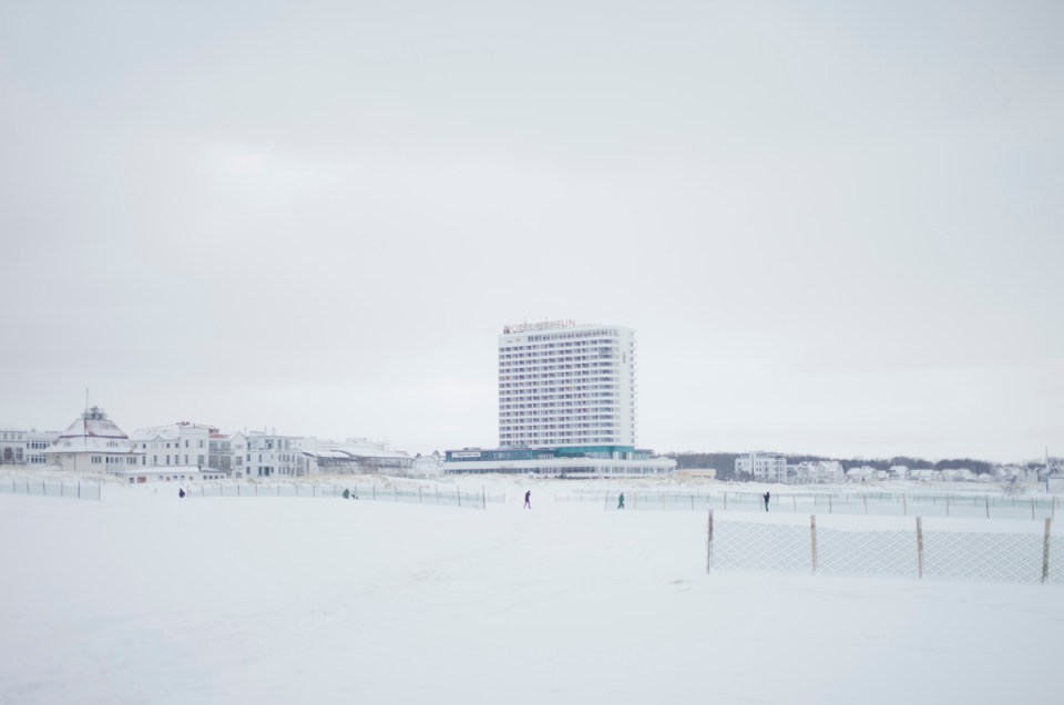 Winter in Warnemünde