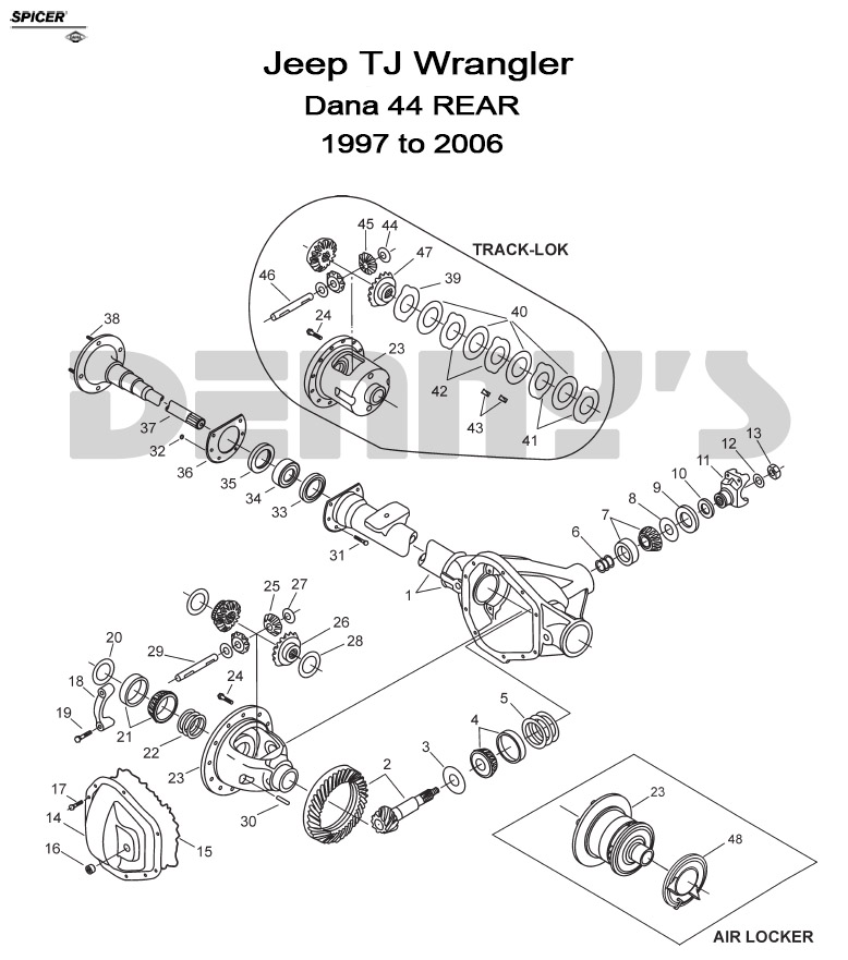 1997 jeep tj rear wiper diagram