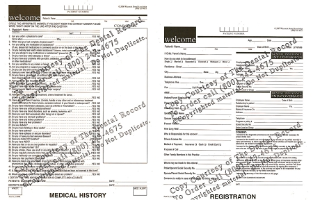 1 Year of Unlimited use of the Dental Record\u0027s ADA endorsed 5-Form