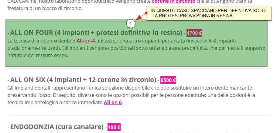 Prezzi impianti dentali dentista implantologia prezzi - Finestra tra i denti ...