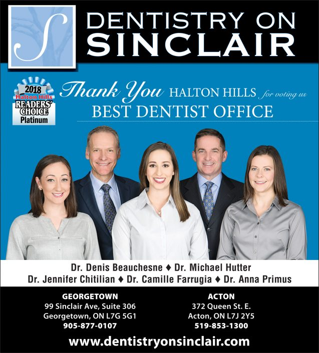 Thank you for voting us Best Dentist Office!