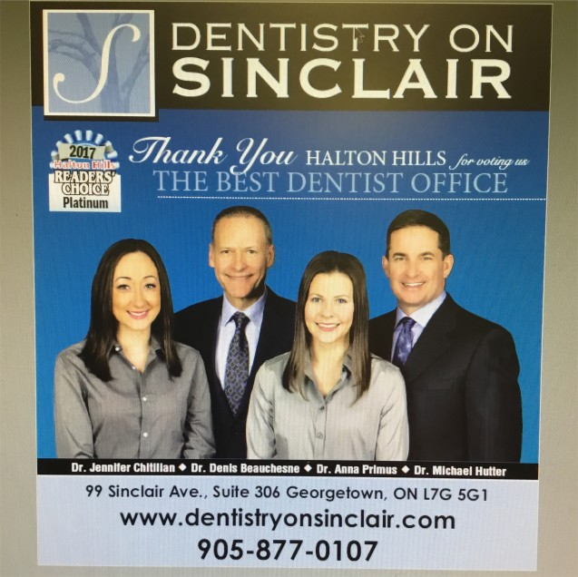Thank You for voting us Best Dentist Office (Platinum) for the