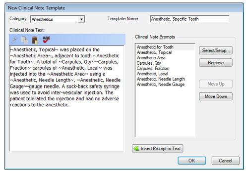 Creating Custom Clinical Note Templates Dentrix Enterprise
