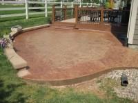 Concrete Patios Denver | Custom Decorative Concrete Patio ...