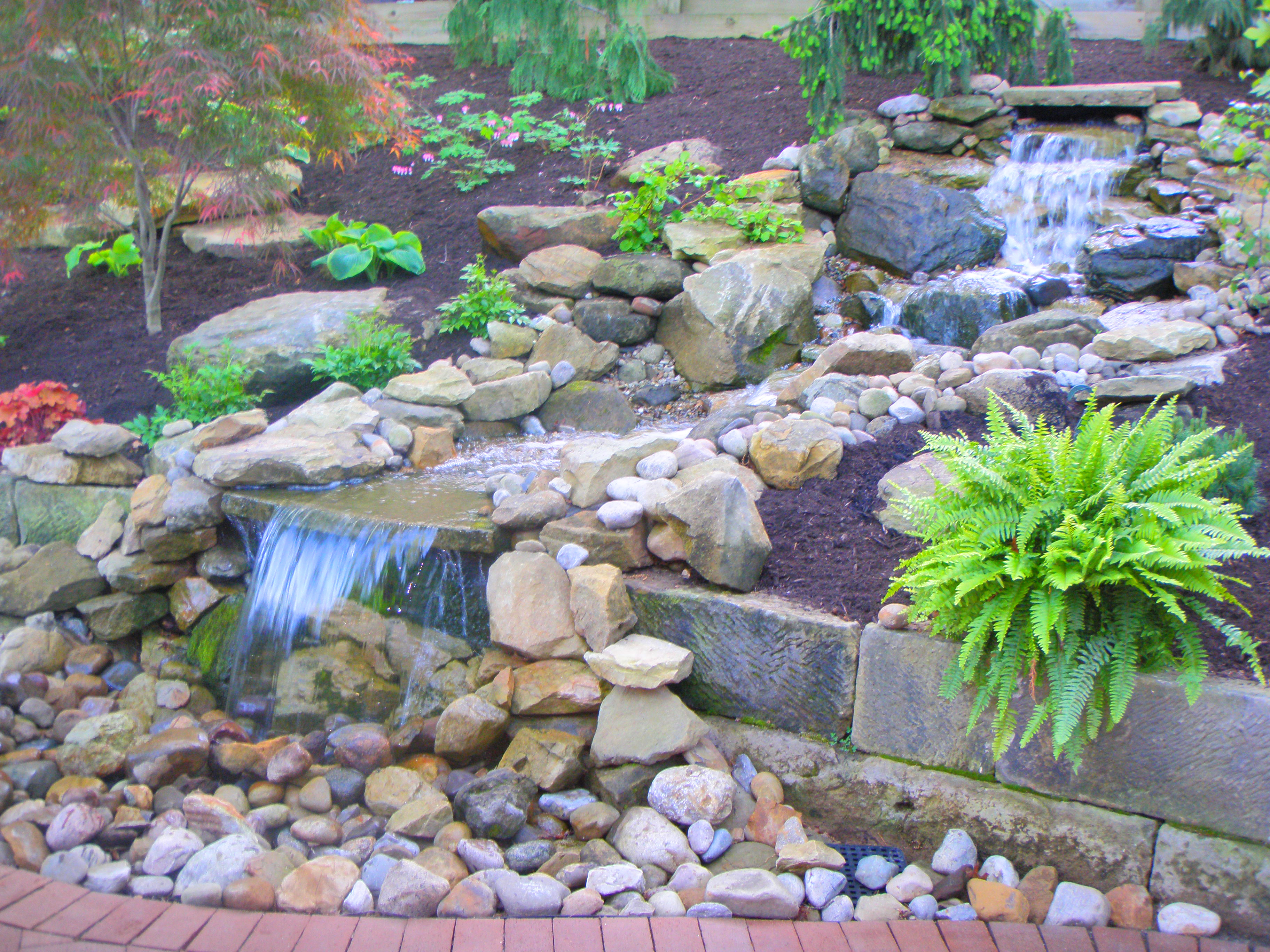 Water features denver denver water garden contractors for Pond water features