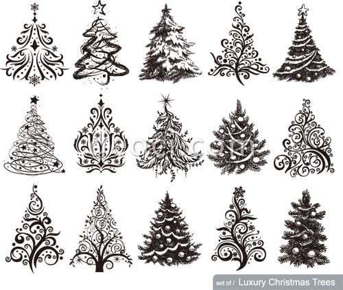Christmas Tree Design Template Archives - DEOCI DEOCI Free