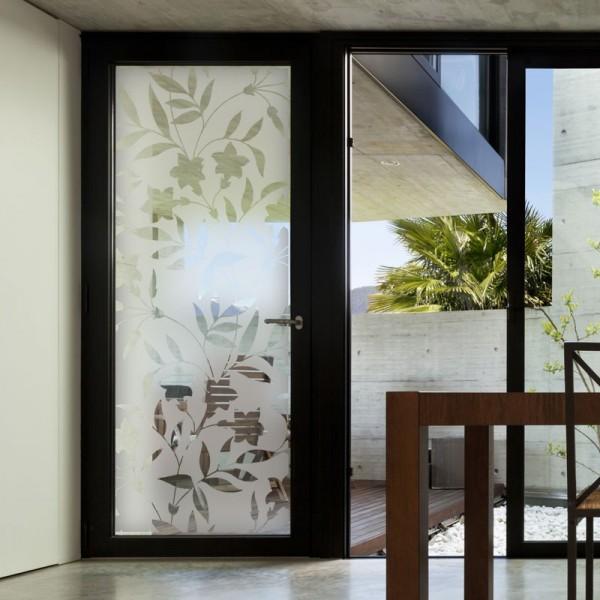 Sticker+occultant+pour+vitres+et+fenêtres+motif+prismes Privacy - Peindre Des Portes En Bois